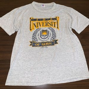 Vintage University of Akron T-shirt